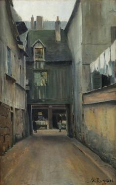 Carreró de Rouen. Santiago Rusiñol. 1891